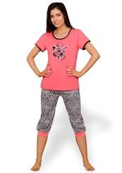 Dámské pyžamo Kaja s capri kalhotami