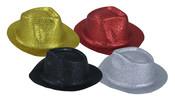 Klobouk pánský lesklý, plast, 4 barvy