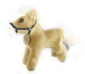 Plyšový kůň stojící 19 cm