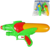 Zbraň vodní se zásbníkem v sáčku Pistol na vodu PLAST