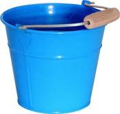 Kyblík kovový modrý na písek