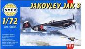 SMĚR Model letadlo Jakovlev Jak 3 1:72 (stavebnice letadla)
