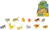 Zvířátka 5 cm divoká SAFARI 12 druhů mini ZOO