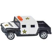 US Policie americká kovové auto 1334