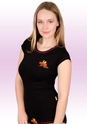 Dámské tričko s obrázkem irisu