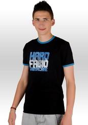 Pánské tričko s nápisem Hard fabio