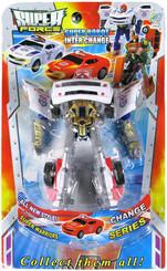 Transformers Robot - Auto na kartě 2 barvy