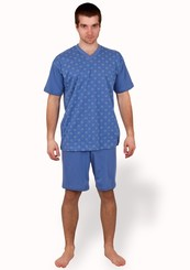 Pánské pyžamo s kraťasy Seweryn