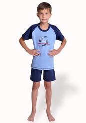 Dětské pyžamo s obrázkem free style a kraťasy