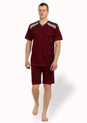 Pánské pyžamo nadměrné velikosti s kapsou
