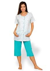 Dámské pyžamo s capri kalhotami Helena