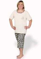 Dámské pyžamo nadměrné velikosti Magda