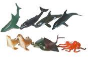 Zvířata mořská v sáčku 9 kusů