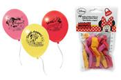 Balónek nafukovací Minnie 10 ks v sáčku