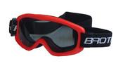 Lyžařské brýle DĚTSKÉ B132 - červené
