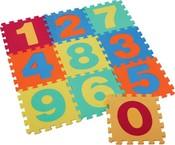 Měkké bloky / puzzle na zem 30 x 30 čísla