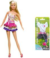 Steffi Holiday Fashion 4 druhy ŠATY pro panenku