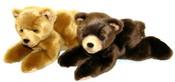 Plyšový medvěd 15cm ležící 2 druhy
