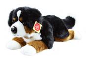 Plyšový pes salašnický ležící 40cm