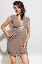 Noční košilka Iness II cappucino