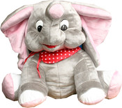 Plyšový slon Mumbai 75 cm