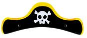 Čepice pirátská 6 ks v sáčku-dětské