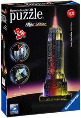 RAVENSBURGER Puzzle 32D Empire State Building Noční edice 216 dílků