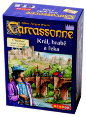 SPOLEČENSKÁ HRA Carcassonne rozšíření 6 Král, hrabě a řeka