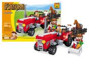 Stavebnice farma traktor velký, 215 dílů