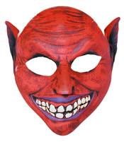 Maska plastová čert
