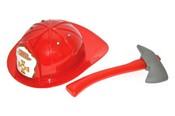 Helma požární v sadě s hasičskou sekerou