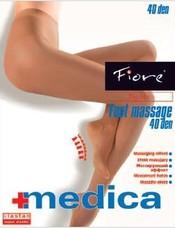 Zdravotní punčochy FOOT MASSAGE 40 den