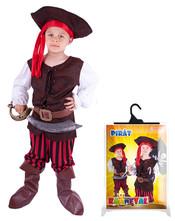 Kostým pirát, klobouk,boty, vel. M