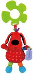 Pes Patrick S úchytem Na kočárek Textilní BABY