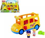 FISHER PRICE Little People Autobus školní hrající BABY