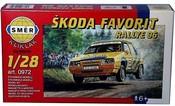 Model auto Škoda Favorit Rallye 96 1:28