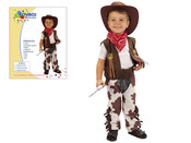 Dětský kostým KOVBOJ vel.XS (92-104 cm)
