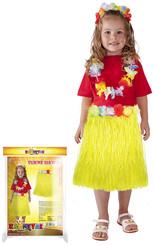 Sukně hawai dětská 50 cm žlutá