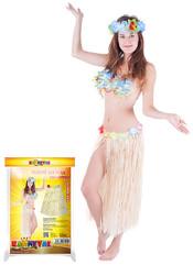 Sukně hawai dospělá vel.,přírodní