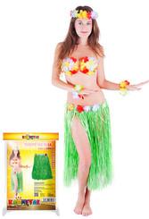 Sukně hawai dospělá vel., zelená