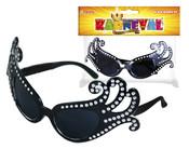Brýle karnevalové černé