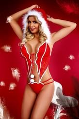 Vánoční kostým Christmas Girl
