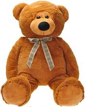 PLYŠ Medvěd 90 cm s mašličkou