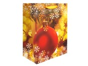 Dárková taška 18x23 cm vánoční (1 ks)
