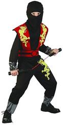 ětský kostým Ninja /110-120cm/