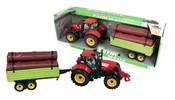Traktor s vlečkou, 4 druhy