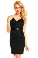 Dámské černé šaty hs-sa412bl