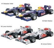 Formule auto, McLaren a Red Bull 2011 (model 1:32 Formula)