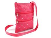 Dětská taška 15x20 cm se zipy a flitry