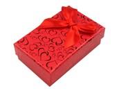Krabička na šperky 5x8 cm s mašlí